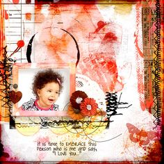 Angie Young Designs - DARE to Love Yourself - Scrap Art Studio Gallery