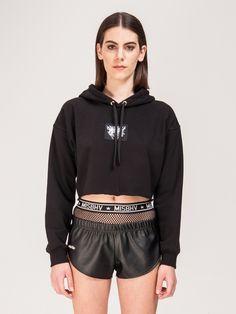 MISBHV , Cropped Sweatshirt Siyah #shopigo#shopigono17#shoponline#womenswear