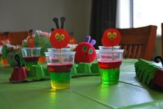 The Very Hungry Caterpillar Party Treat