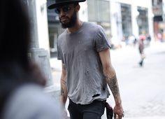 Confidence / Hat / Beard