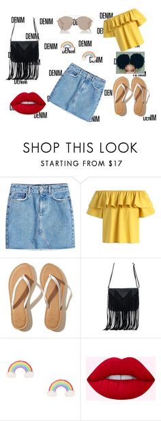 """cutttttieeee"" by mutundu on Polyvore featuring Anine Bing, Chicwish, Hollister Co., WithChic and Christian Dior"