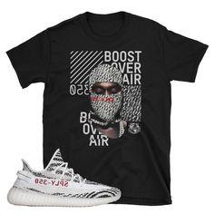 Yeezy Boost 350 Zebra Mask T-Shirt