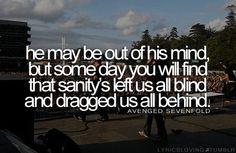 Save Me - Avenged Sevenfold