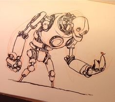 Been a while since a robot escaped my pen.