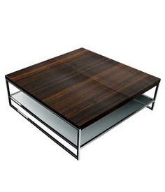 Kos Due Table - Contemporary living room table and coffee table