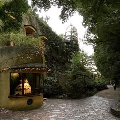 Studio Ghibli Museum is located in Mitaka Japan