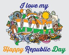 Share your #love for your country with your countrymen on 67th Indian #RepublicDay with this amazing #Ecard. #HappyRepublicDay. www.123greetings.com