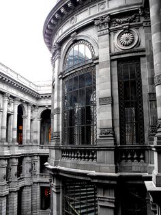 """Escalera monumental"" MUNAL MUSEUM, MEXICO CITY"