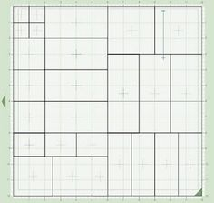 One Sheet Wonder card cutting guide - Make 28 cards with 2 sheets each patterned paper and card stock