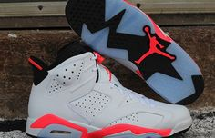 """Air Jordan 6 Retro – """"White/Infrared"""" 