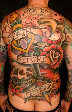 This is by Danish tattooer Judd Ripley- love his supersize traditional work!