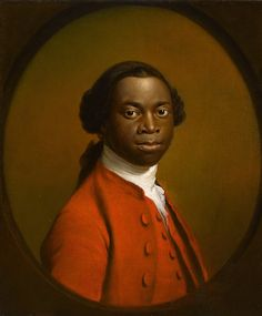 'Portrait of an African, c.1757-60', Allan Ramsay. Eighteenth century society portraiture remained beyond the reach of all but the wealthy and Ignatius Sancho (1729-80) was one of the very few Africans portrayed as an individual rather than as a slave or servant. According to Sancho's biographer, he was born on a slave ship and brought to England as a child.