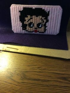 Betty Boop Eyeglass Case by Hitchingscrafts on Etsy, $6.50