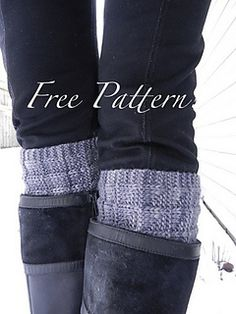 Ravelry: Boot Toppers / Cuffs pattern by Kris Basta - Kriskrafter, LLC Knitting Stitches, Knitting Socks, Knitting Patterns Free, Knit Patterns, Free Knitting, Knitting Ideas, Knitting Projects, Free Pattern, Simply Knitting