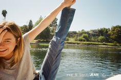 Camille Rowe for the D.I.Y. Project I rag & bone