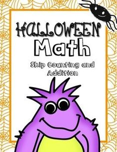 Halloween Math Free!This is a preview of my Halloween Math Packet. You can buy the Halloween Math packet BUNDLED with my Halloween Word Work pack at a discounted price here!Halloween Activities Bundle.This free Halloween Math activity includes a skip counting and addition worksheet for 1st and 2nd grade!