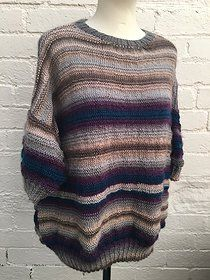Free Knitting Pattern: Boho Spirit Slouchy Sweater