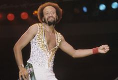 The great Maurice White of Earth, Wind & Fire