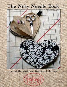 Nifty Needle Book by RedTwigDIY on Etsy, $5.00