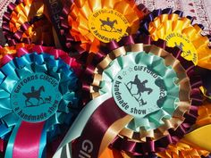 We are delighted to have redesigned our handmade rosettes in psychedelic seventies colours for our Xanadu show. Its Nice That, Crafty Projects, Rosettes, Psychedelic, Colours, Handmade, Clothes, Design, Outfits