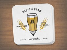 Draft & Draw Coaster by Jeremiah Britton