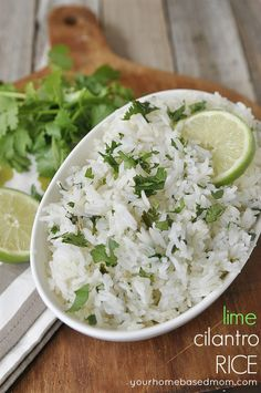 Lime cilantro rice #recipe