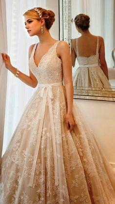 4b4bae8f6d23 33 Best Tea Length Lace Wedding Dresses images