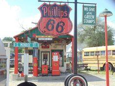 Cool old Gas station! #vintage #retro #GasStation