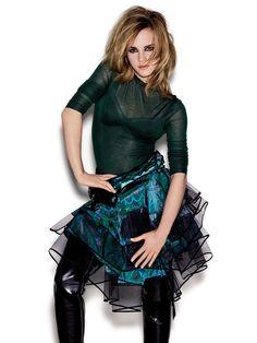 Эмма Уотсон — Фотосессия для «Elle» UK 2009 – 4