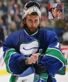 Vancouver G Roberto Luongo. Hockey Goalie, Hockey Games, Hockey Players, Nhl, Seahawks Super Bowl, Wayne Gretzky, Florida Panthers, Vancouver Canucks, Win Or Lose