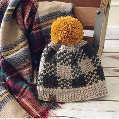 Exceptional Stitches Make a Crochet Hat Ideas. Extraordinary Stitches Make a Crochet Hat Ideas. Plaid Crochet, Crochet Beanie Pattern, Love Crochet, Knit Crochet, Crochet Hats, Crochet Style, Crochet Dolls, Knitting Patterns, Crochet Hat Patterns