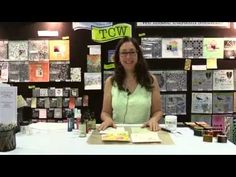 Create beautiful backgrounds with Stencils from The Crafter's Workshop Video
