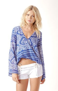 hayley top by BLUE LIFE #planetblue