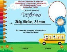 diplomas para niños para descargar gratis - Buscar con Google