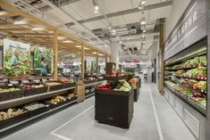 TRIAD China has created the visual identity and brand communication strategy for the second Shanghai store of Hunter Gatherer. Retail Interior Design, Retail Store Design, Visual Merchandising, Chinese Food Culture, Vegetable Shop, Food Retail, Fruit Shop, Hunter Gatherer, Branding