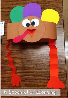 A Spoonful of Learning: Turkeys! Gobble, Gobble, Gobble!