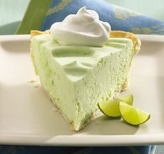 Key Lime Pie! 1 pkge lime Jello, dissolved in 1/4 cup boiling water 1.5 cup lime greek yogurt 1 cup Cool Whip Mix together and pour into pie shell / crust of choice.  Refrigerate 2 hrs and enjoy!