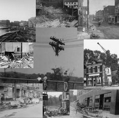 The Flood of 1955 in the Naugatuck Valley, Ct.