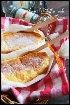 [簡単!包んで焼くだけ!] フライパンで包んで チーズシフォンケーキ |珍獣ママ オフィシャルブログ「珍獣ママのごはん。」Powered by Ameba