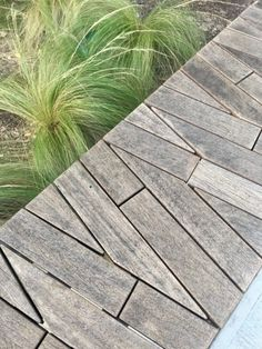 """conceptlandscape: """" Details & contrast from the Seaholm EcoDistrict in Austin, Texas. submitted by Catherine Saunders """" Paving Ideas, Path Ideas, Modern Landscaping, Backyard Landscaping, Landscaping Ideas, Landscape Design, Garden Design, Paving Pattern, Garden Architecture"""