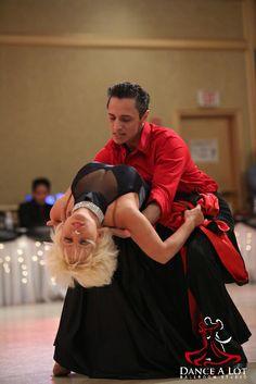 Adriana Bezmenova and Georgi Kanev dancing the Paso Doble Show