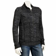 Rock and Republic Two-Pocket Sweater Jacket -  $60