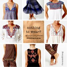 so many functions...nothing to wear...we've got you covered...beautiful things - ethically made.. www.foundling.com.au