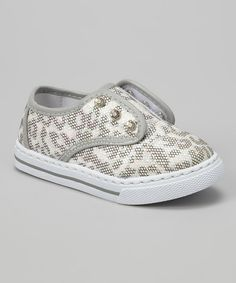 Take a look at the Silver Dalia Sneaker on #zulily today!