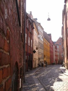 Magstræde is just one of the beautiful streets in CPH <3