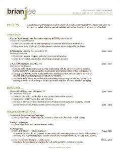 1000+ images about Resume Headings on Pinterest | Resume ...