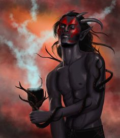 The Daedric Prince Sanguine, by MaevesChild