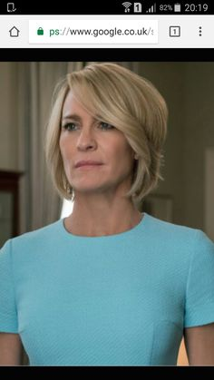 Love Claire Underwood's hair in Season 5!