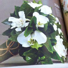 Gardenia- my wedding bouquet