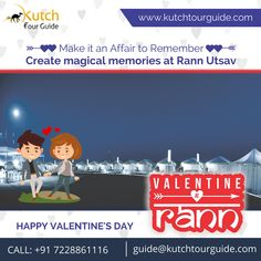 Love doesn't need the gifts and the flowers, it needs the time and the attention. Celebrate Valentine's with your loved one only at Rann Utsav.  #Happyvalentineday #happyvalentineday2018 #rannutsav #gujarattourism #rannofkutch #whitedesert #incredibleindia